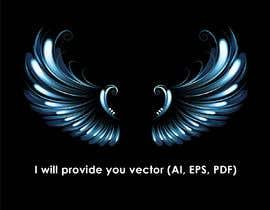 #30 untuk vector angle wings oleh creativetrends