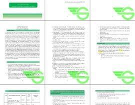 #2 สำหรับ Design Booklet in MS Word โดย rizia369