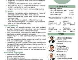 #33 for Beautiful fact sheet af rizia369