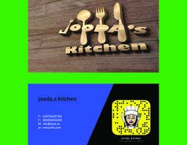 #41 for Business Cards for Jooda's Kitchen by shihab23