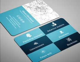#228 for Design a business card with a technology and connection theme by salmancfbd