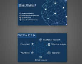 #186 for Design a business card with a technology and connection theme by rahnumarah476