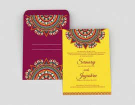 #10 per Hindu Wedding Invitation Card Design da dissha