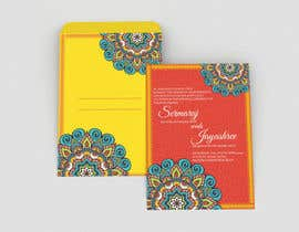 #11 per Hindu Wedding Invitation Card Design da dissha