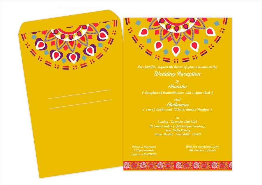 Entry 15 By Narvekarnetra02 For Hindu Wedding Invitation