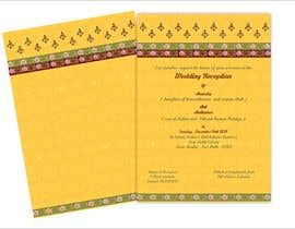 #18 per Hindu Wedding Invitation Card Design da narvekarnetra02