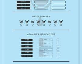 #6 untuk I need a food/exercise log designed oleh adiramanan98