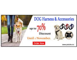 #10 untuk Discount banner for dog articles oleh onlinemahin