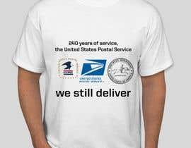#2 for USPS T-shirt design af eyzahaini