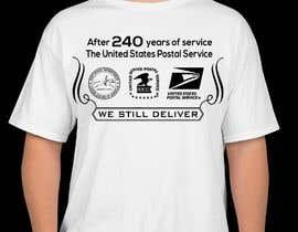 #5 for USPS T-shirt design af hossaingpix