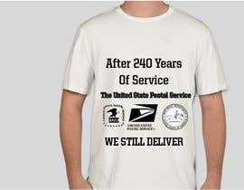 #10 for USPS T-shirt design af Suzanaasma22