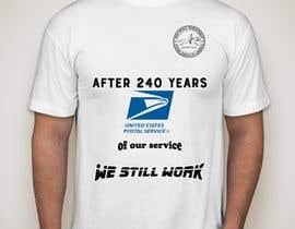 #3 for USPS T-shirt design af Nishyt2140
