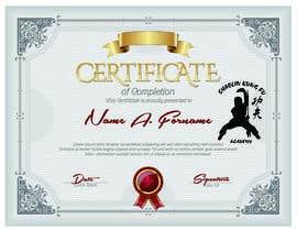 #6 untuk Shaolin Kung Fu Certificate oleh NazMalik004