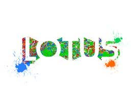 #52 for Spell out the word LOTUS into a logo design using objects like spray paint bottles, brushes, and other street art materials by Beena111