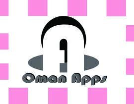 "#19 para Design logo for ""OmanApps"". Three colors: Red, white and green. Be creative in selecting icons :) por nakib0888"