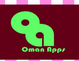 "#20 para Design logo for ""OmanApps"". Three colors: Red, white and green. Be creative in selecting icons :) por nakib0888"