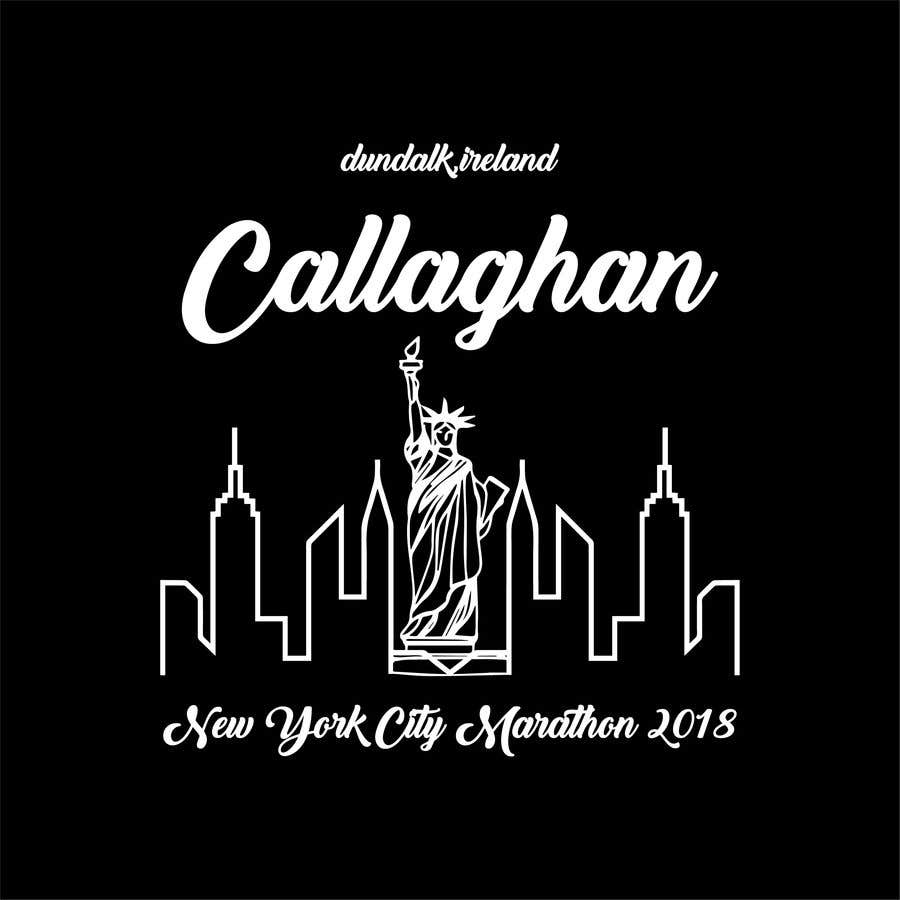 Entry 40 By Jakirjony98 For New York City Marathon T Shirt Logo Design Freelancer