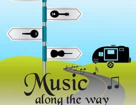 "nº 5 pour Design a logo for my website and blog ""Music Along the Way"" par felipejon47452"