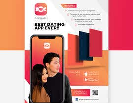 #20 for A4 Print poster for Dating App by ISShaikh007
