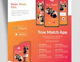 #35 for A4 Print poster for Dating App by ankurrpipaliya