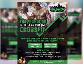#35 untuk We require a flyer for a gym oleh GraphicsView
