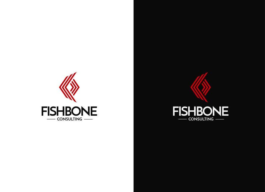 Entry 96 By Jhonnycast0601 For Logo Design Fishbone Consulting Freelancer