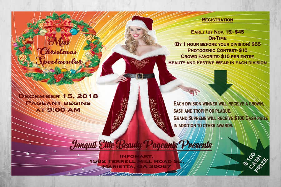 contest entry 9 for beauty pageant flyer needed