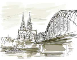 #17 para Draw an image about a city of Germany de artkrishna
