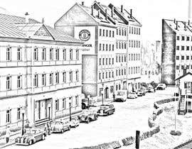 #4 para Draw an image about a city of Germany de warisaziz