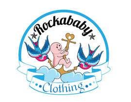 ksudhaudupa tarafından Design a Logo for Rockabilly Clothing for children için no 50