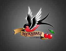 jcabrera83 tarafından Design a Logo for Rockabilly Clothing for children için no 24