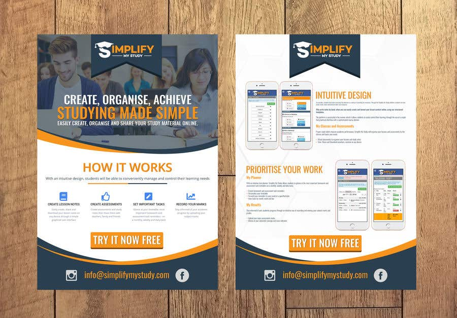 entry 32 by webcreadia for create a persuasive marketing flyer