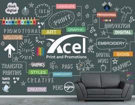 #46 para Design a wall graphic por sshhll