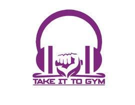 #53 for Take It To Gym Logo by Bokul11