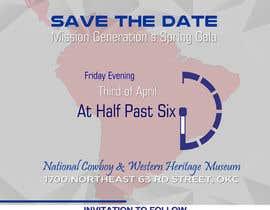 zskconcepts tarafından Design a Save the Date (Invitation) to a benefit Gala. için no 38