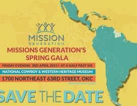 moiraleigh19 tarafından Design a Save the Date (Invitation) to a benefit Gala. için no 31