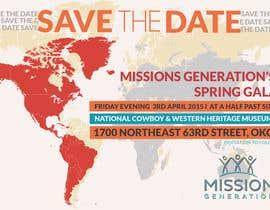 moiraleigh19 tarafından Design a Save the Date (Invitation) to a benefit Gala. için no 32