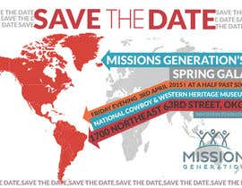 moiraleigh19 tarafından Design a Save the Date (Invitation) to a benefit Gala. için no 34