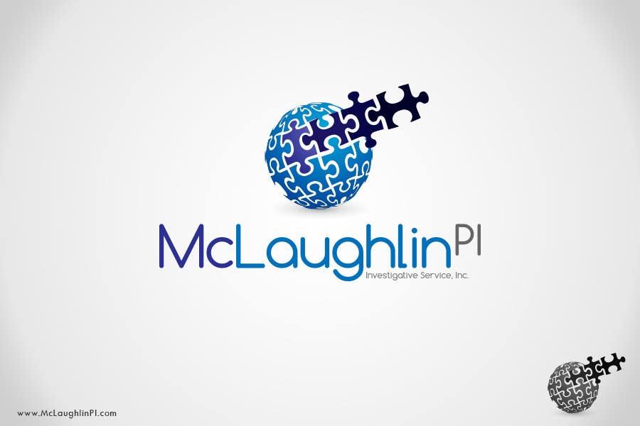 Конкурсная заявка №111 для Logo Design for www.McLaughlinPI.com