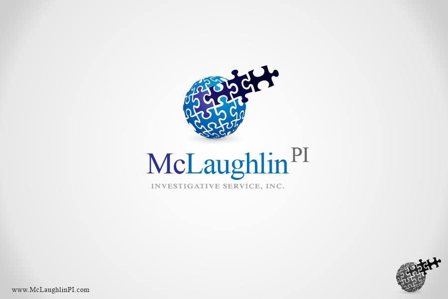 Конкурсная заявка №119 для Logo Design for www.McLaughlinPI.com
