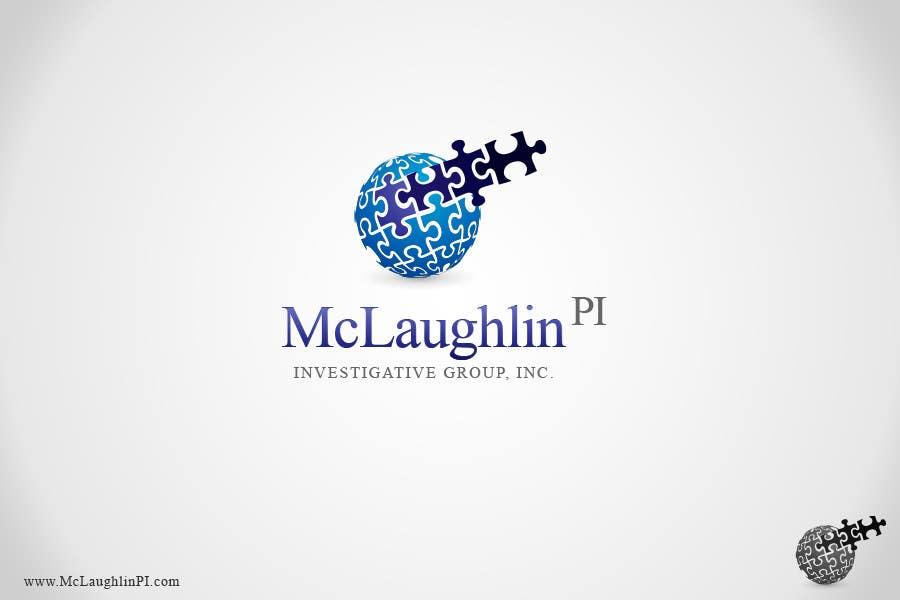 Конкурсная заявка №138 для Logo Design for www.McLaughlinPI.com