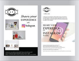 """#27 for Create 4"""" x 6"""" double sided flyers to promote my companies instagram af tasmia00895"""