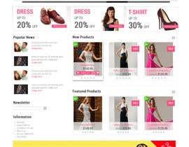 #38 para *** Mockup for Fashion Online Shop *** por lassoarts