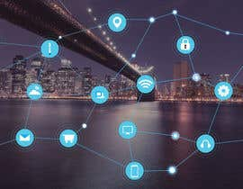 #34 cho Need IoT Internet of Things skyline created bởi htmlsafayet
