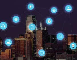 #43 cho Need IoT Internet of Things skyline created bởi htmlsafayet