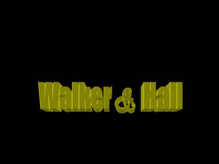 Contest Entry #402 for Logo Design for Walker and Hall