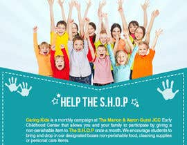 #160 untuk Creative Flyer for Nursery School Giving Campaign oleh RubenA1ejandro
