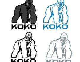 #5 для I'm looking for a logo to represent my new business consultancy firm Koko. I am wanting a modern design with a mascot in the form of a gorilla.   Ideally no more than 2-3 colours. There could even be room for a jungle like theme от ToaMota