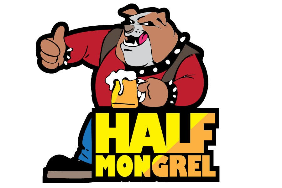 Contest Entry #34 for Logo Design for half mongrel