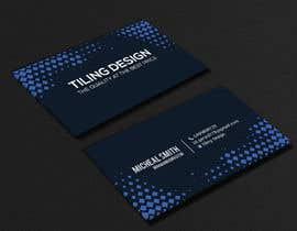 #138 para Card business TILER por wefreebird